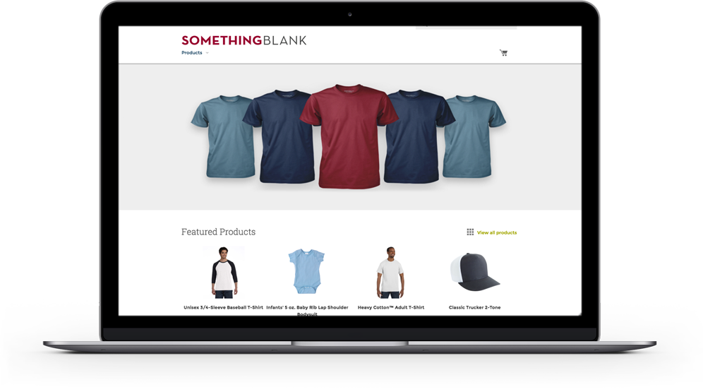 SomethingBlank E-Commerce