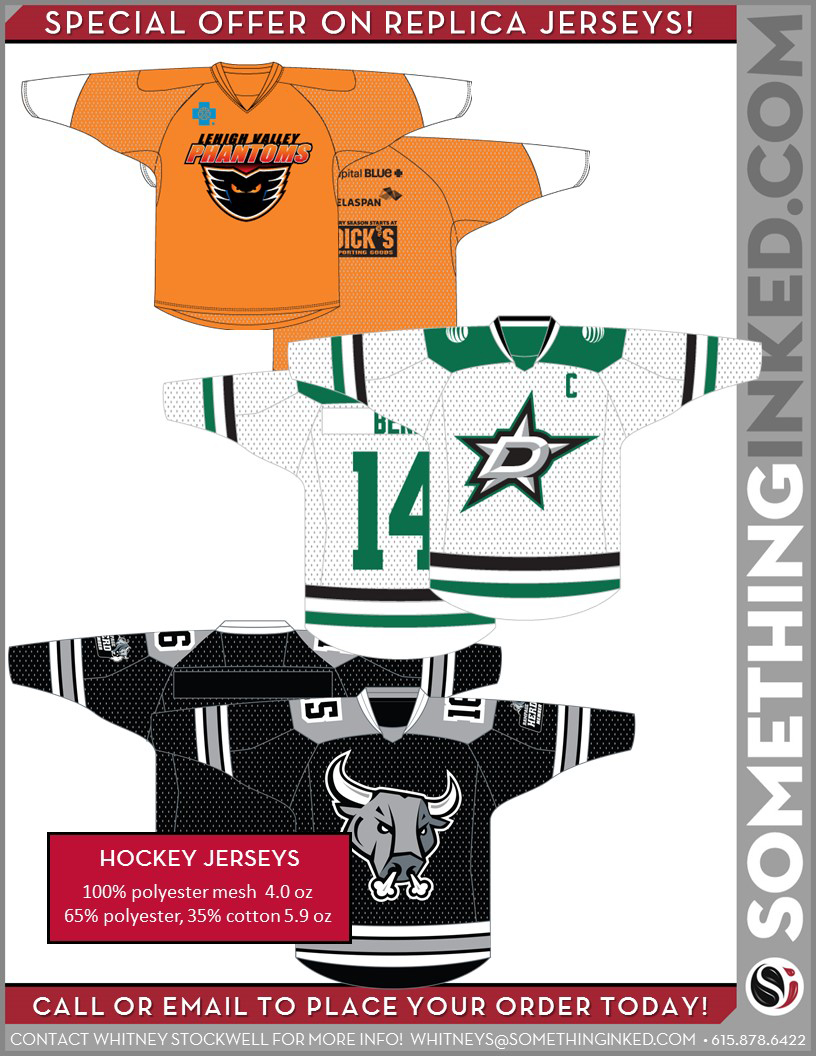 Replica Hockey Jerseys
